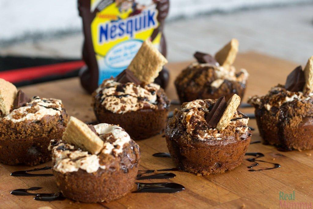 nesquik Smore Cupcake Recipe
