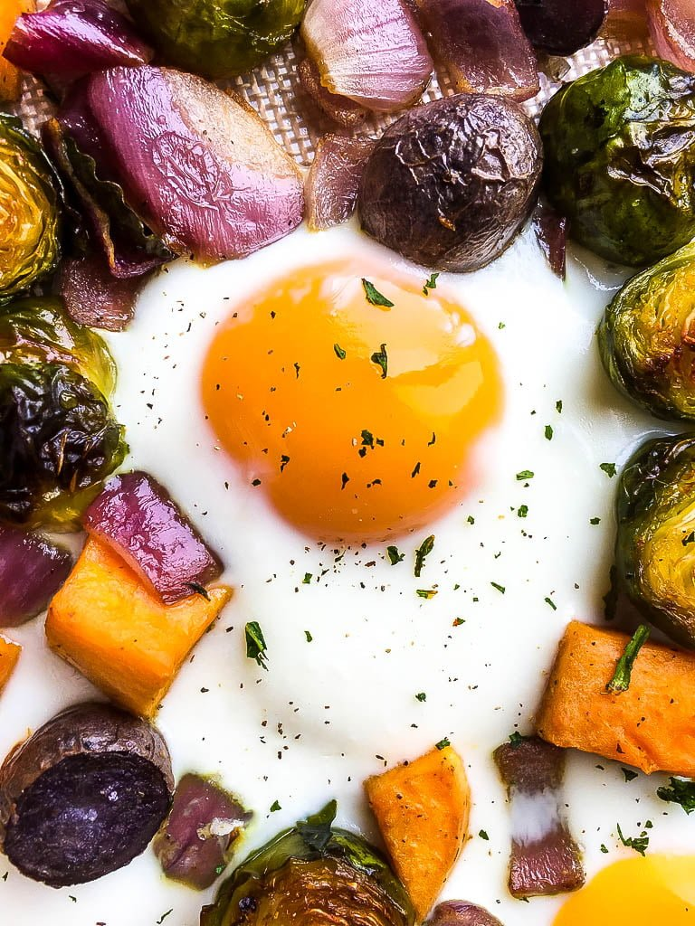 sweet potato breakfast hash with eggs recipe