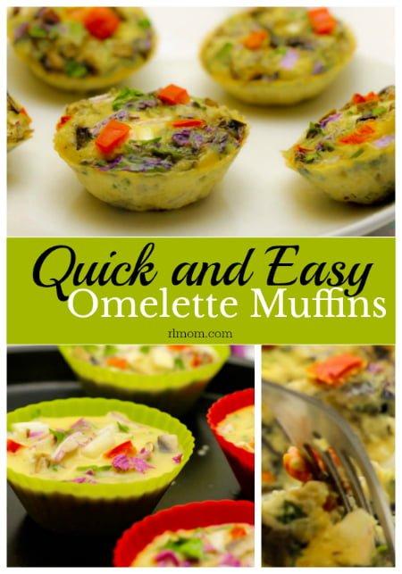 Easy Omelette Muffins Recipe