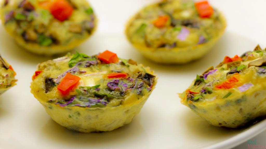 Quick and Easy Omelette Muffins