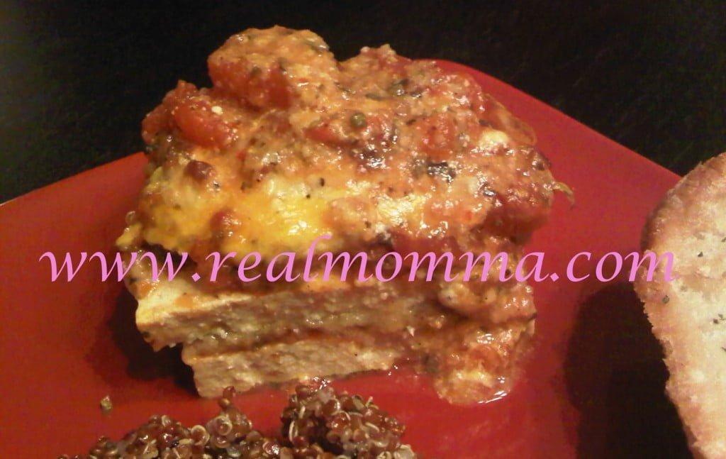 Real Momma Tofu Parmesan Recipe