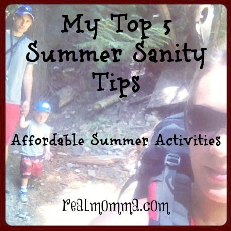 Affordable Summer Activities