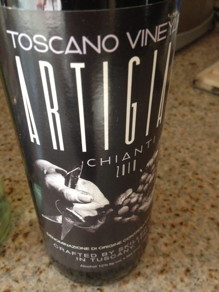 2010 Toscano Vineyards Artigiani Chianti