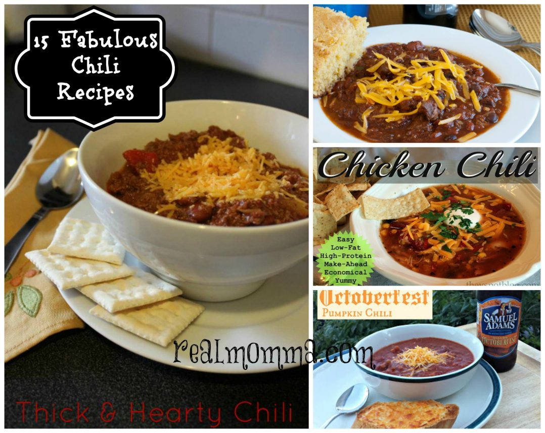 15 fabulous chili recipes