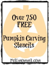 Over 750 free pumpkin carving stencils
