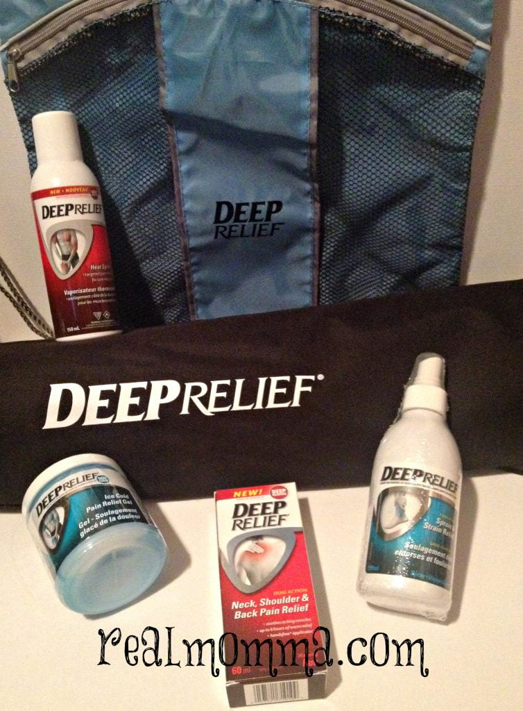 Spray on the Heat with Deep Relief Giveaway