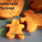homemade playdough pumpkin spice