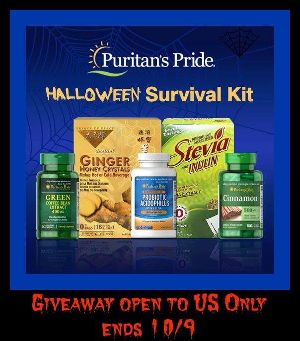 Halloween Survival Kit from Puritan's Pride