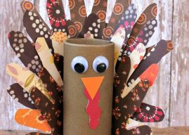 Turkey Hand Print Craft – Thanksgiving Craft with Kids