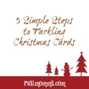 5 Simple Steps to Tackling Christmas Cards