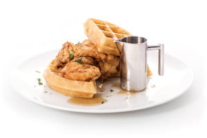 Sugar Factory Las Vegas Chicken and Waffles