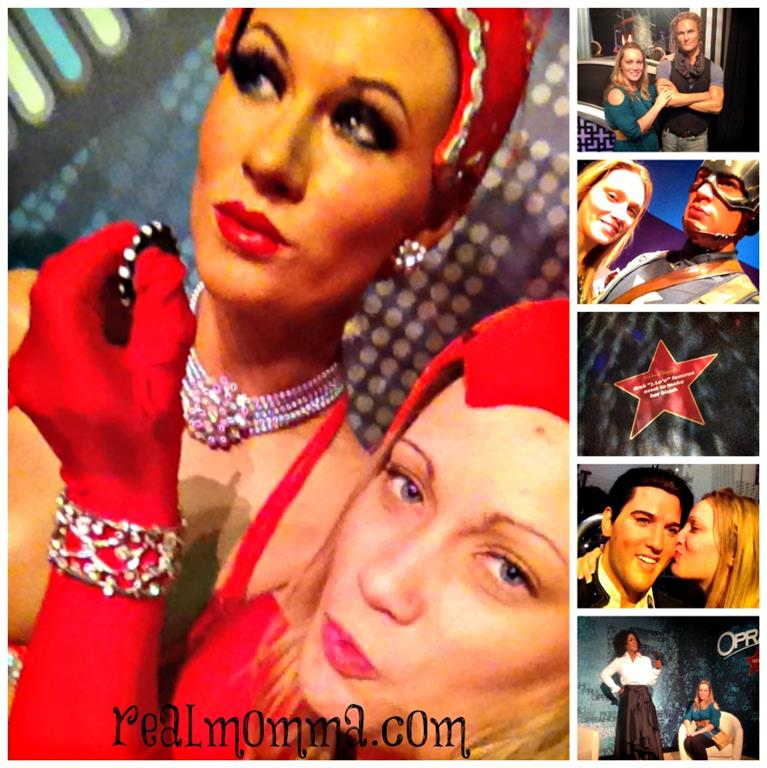 A Girls Gotta Have Fun at Madame Tussauds Las Vegas