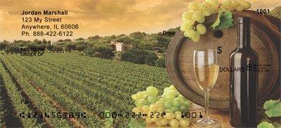 Wine Personalized Checks
