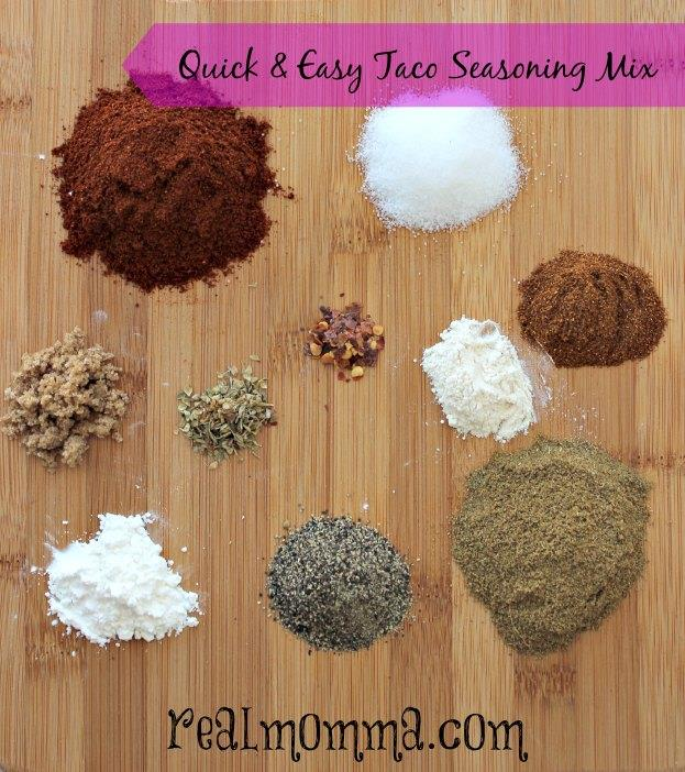 Quick and Easy Taco Seasoning Mix