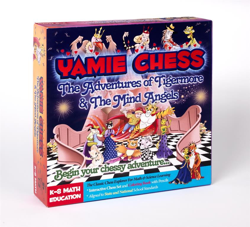 Math Education Chess Set yamie chess