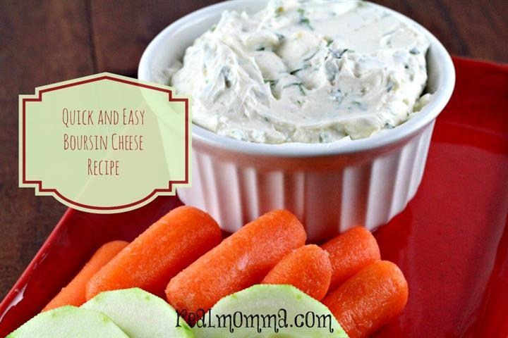 quick and easy boursin cheese recipe