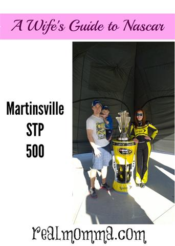 A Wifes guide to NASCAR Martinsville STP 500