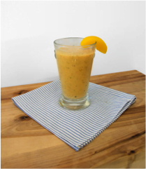 protein peach smoothie recipe