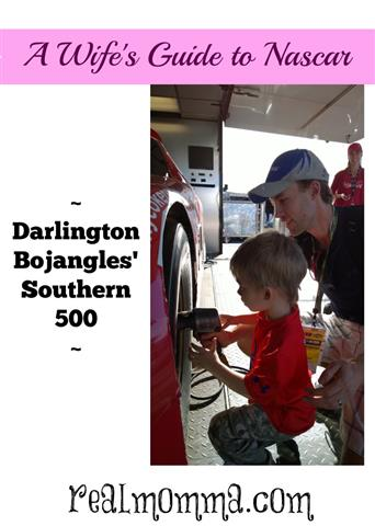 A Wife's Guide to NASCAR - Darlington Bojangles' Southern 500