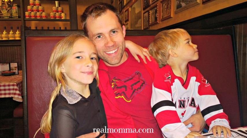 Family Dinner Out - Secret to a Happy Family
