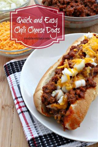 Quick and Easy Melt in Your Mouth Chili Cheese Dogs