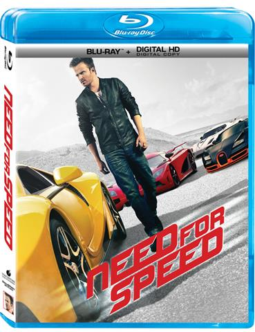 Need For Speed Bluray