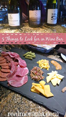5 Things to Look for in Wine Bar - Wine Wednesday