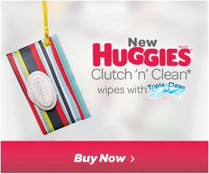 Huggies Clutch n Clean Road trip necessity