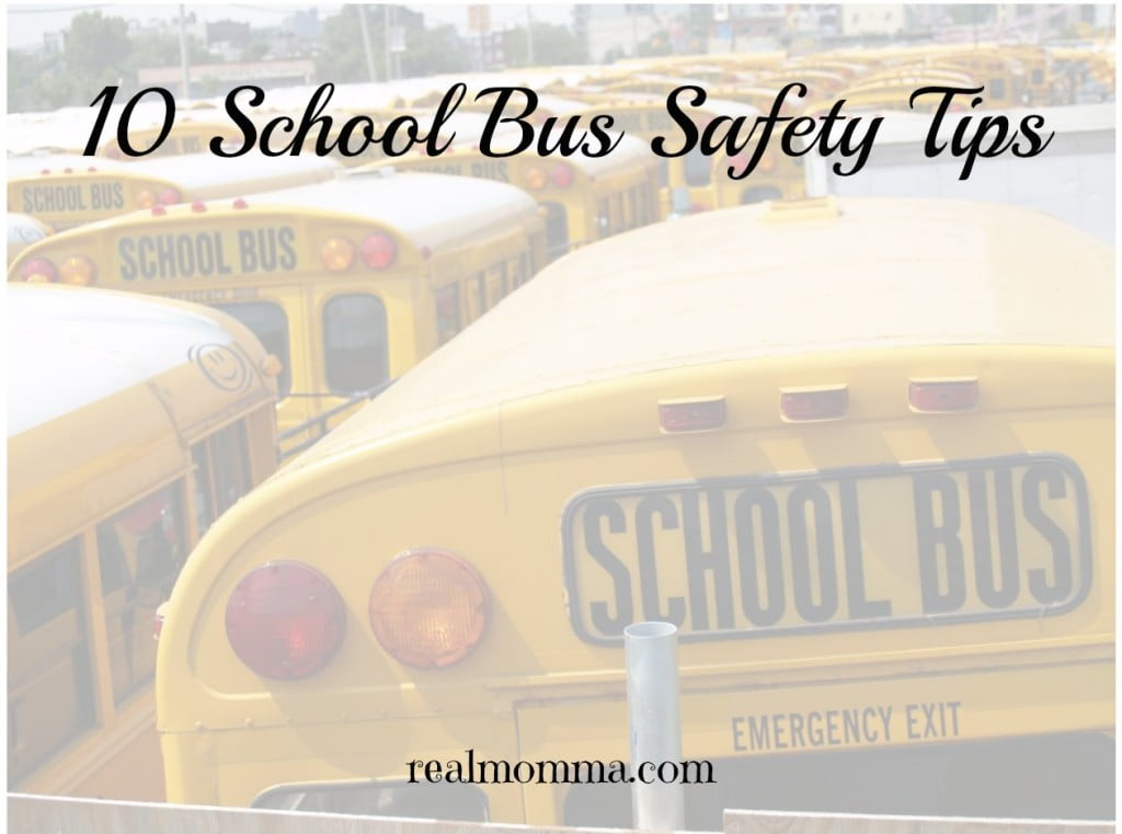 10 school bus safety tips