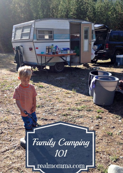 family camping 101