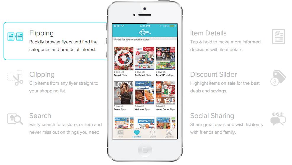 Flipp - the FREE Digital Flyer App Makes Back to School