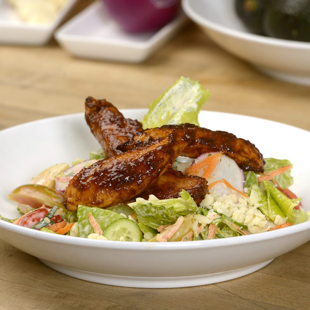 Buffalo Chicken Salad with Ranch Dressing