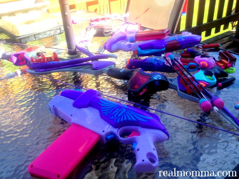 I am Nerf Rebelle Arsenal