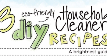 3 DIY Household Cleaning Product Recipes