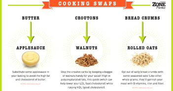 Zone Perfect Cooking Swaps