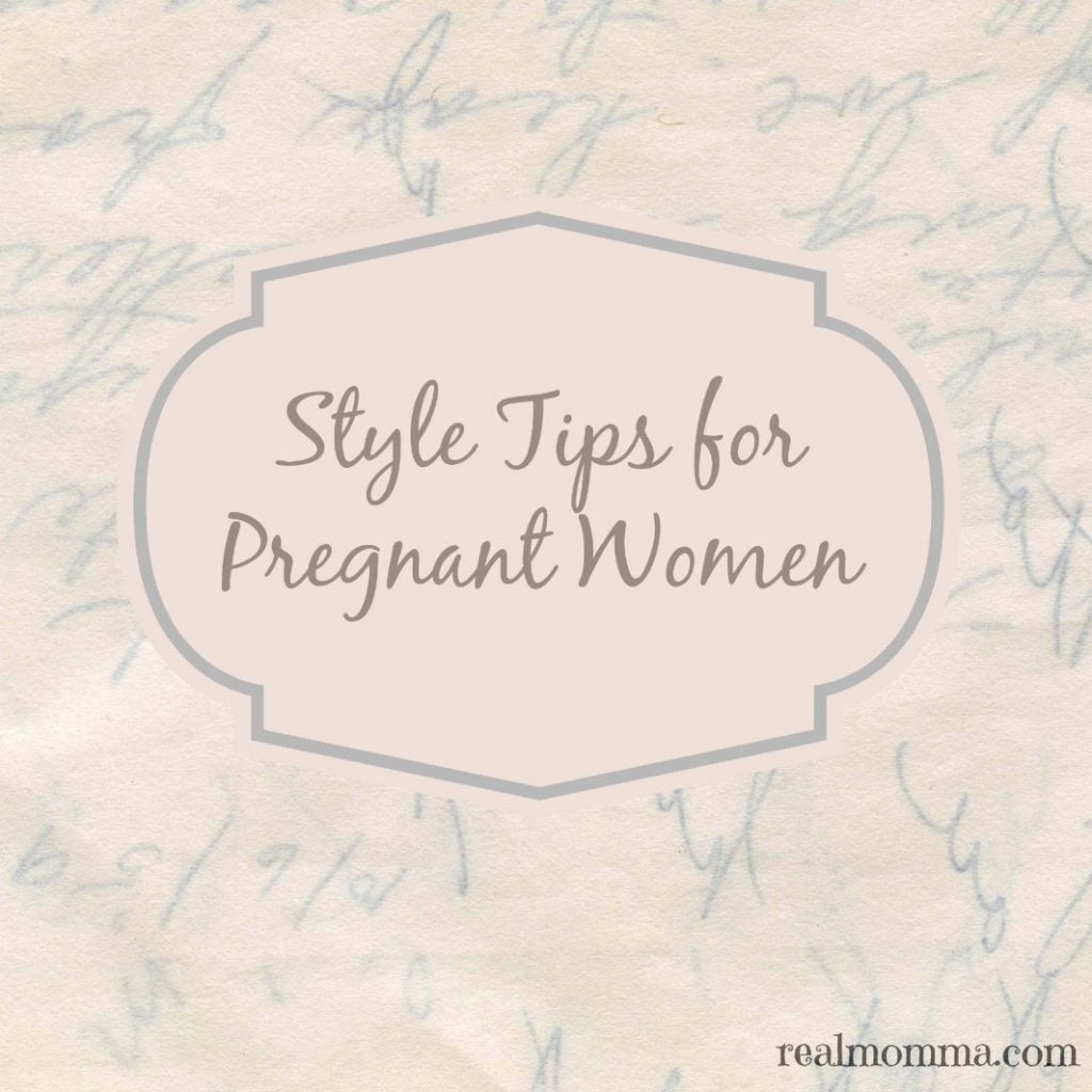 Style Tips for Pregnant Women