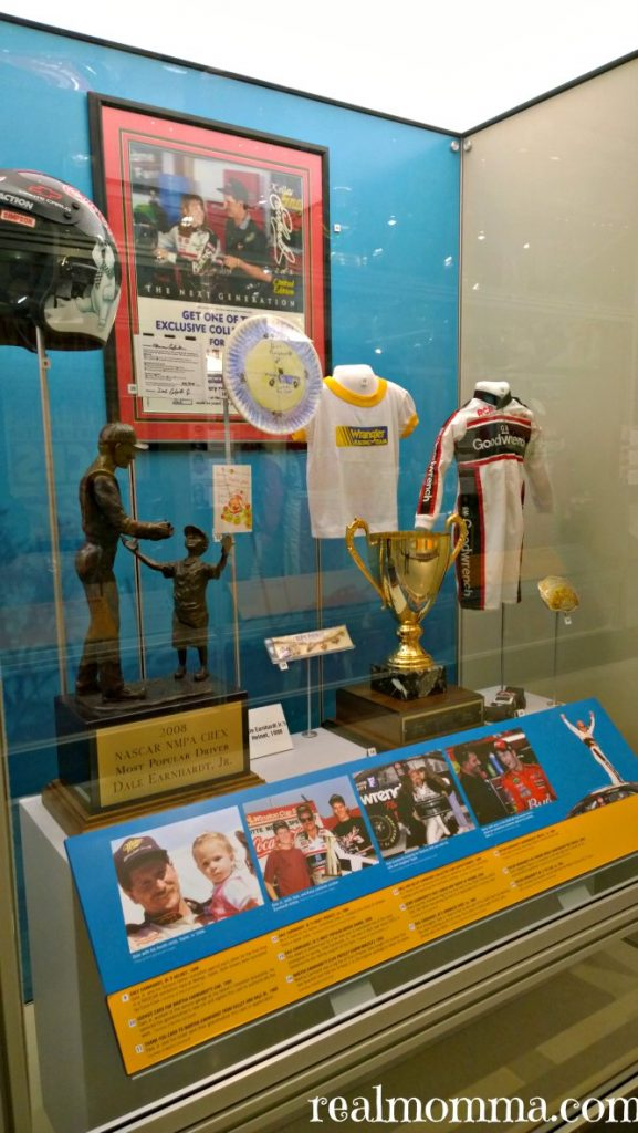 NASCAR Hall of Fame Earnhardt