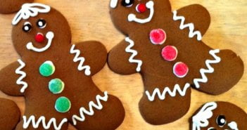 Simple Gingerbread Cookies and Icing Recipe