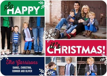 last minute christmas cards