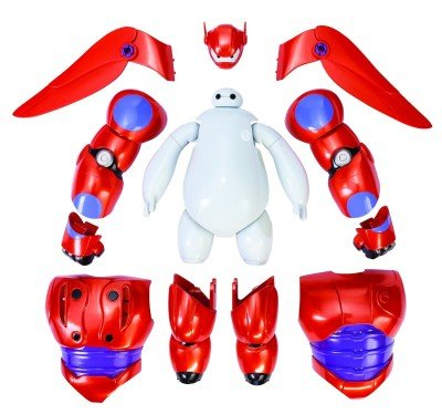 Big Hero 6 ArmorUp Baymax Action Figure