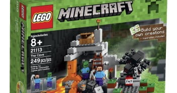 LEGO Minecraft The Cave Review