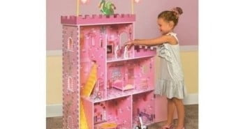Large Doll House Fantasy Castle Wooden Dollhouse
