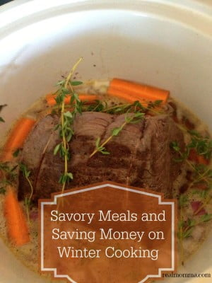 Savory Meals and Saving Money on Winter Cooking
