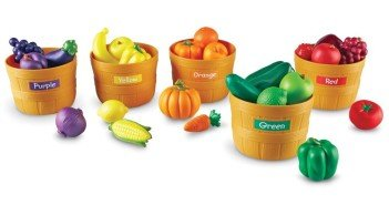 Learning Resources Farmers Market Color Sorting Set Review