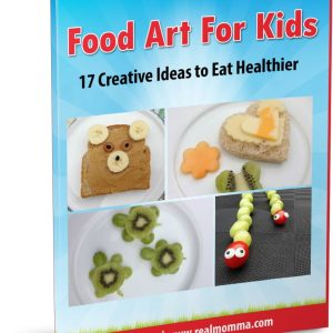 Food Art For Kids Cover