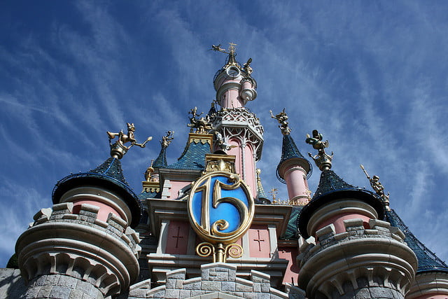 Disneyland in Paris France