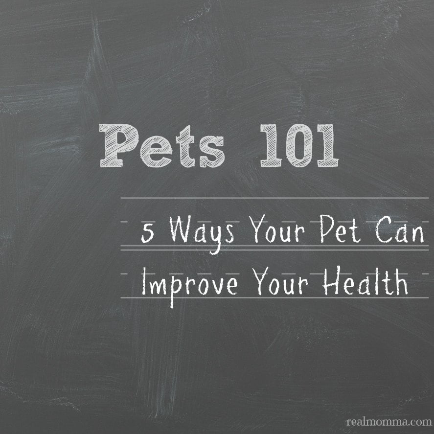 5 Ways Your Pet Can Improve Your Health