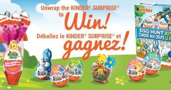 Unwrap the KINDER® SURPRISE® to Win!
