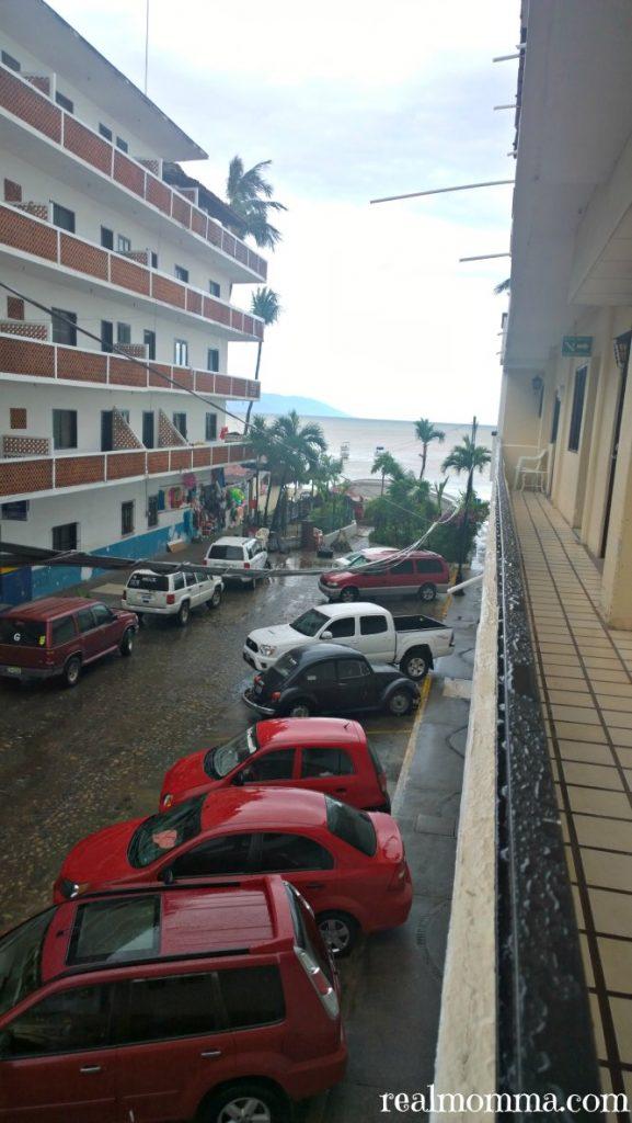 Side Street At Playa Los Acros Hotel