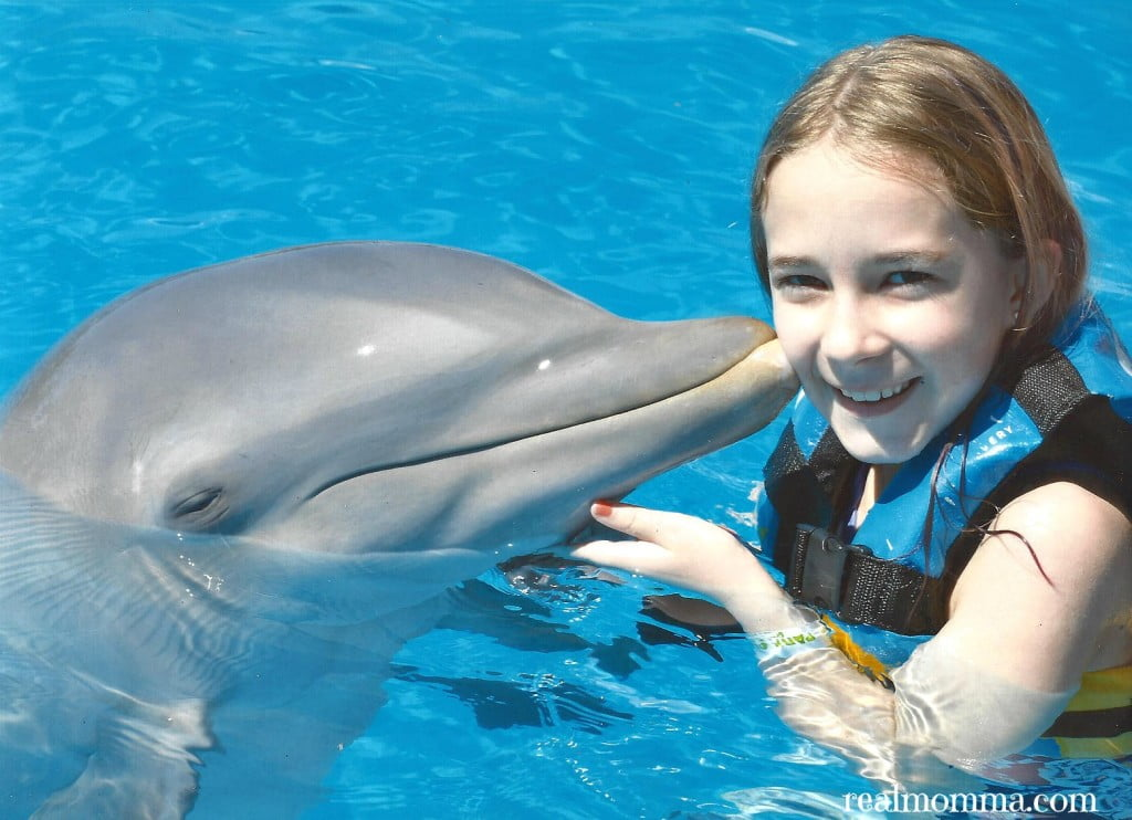 Dolphin with Cheyenne